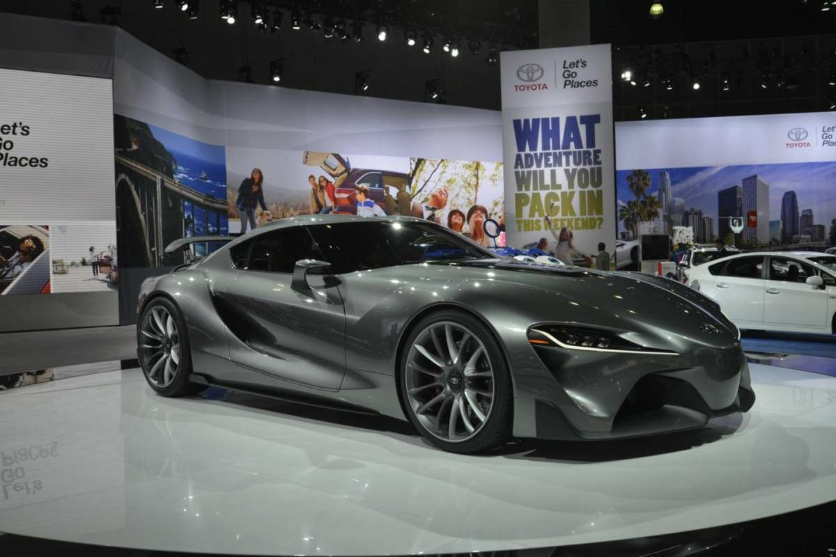 Toyota FT-1 concept, Salone Los Angeles 2014