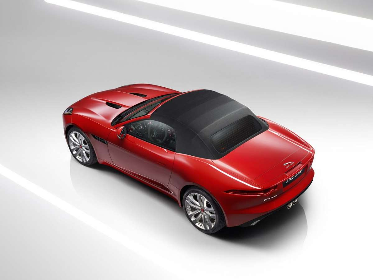 F-Type Convertibile MY2016 coperta