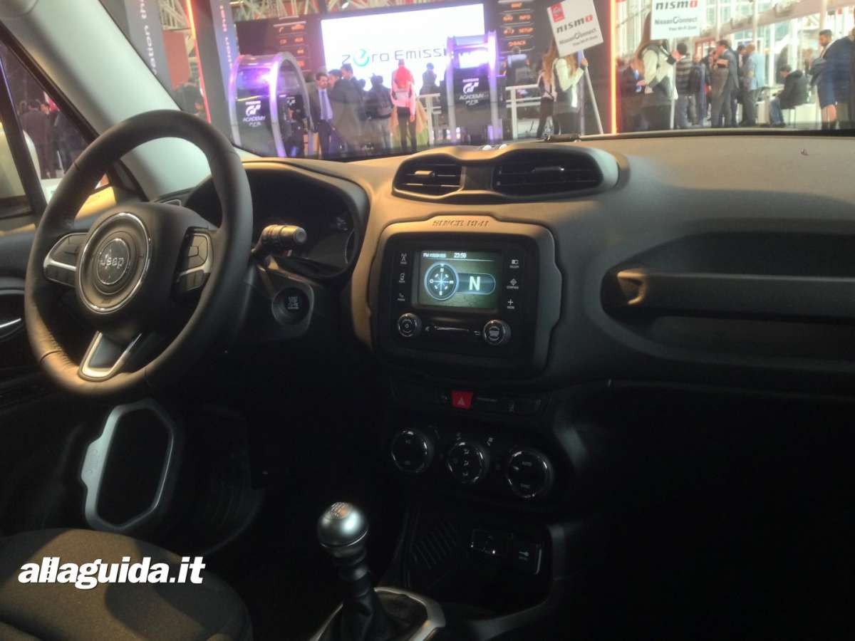 Consolle centrale Jeep Renegade