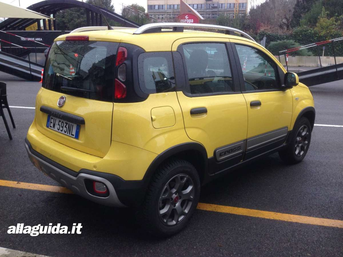 Fiat Panda Cross dimensioni del 4x4