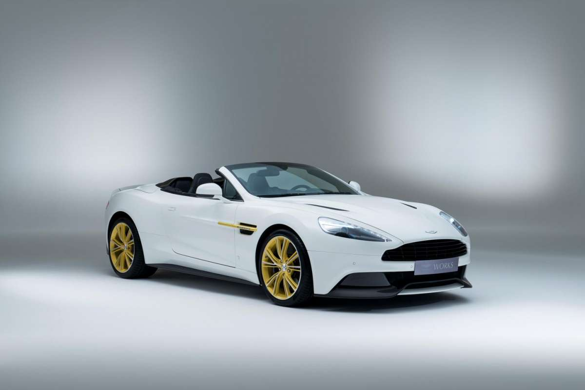 Aston Martin Vanquish 60th Anniversary Works