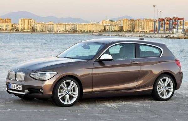 Bmw Serie 1, facelift.