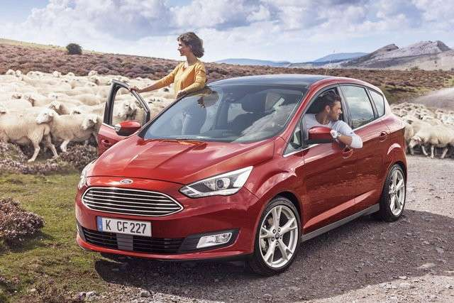Ford C-Max, il restyling.