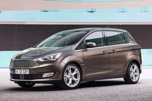 Ford C-Max, nuovo frontale.