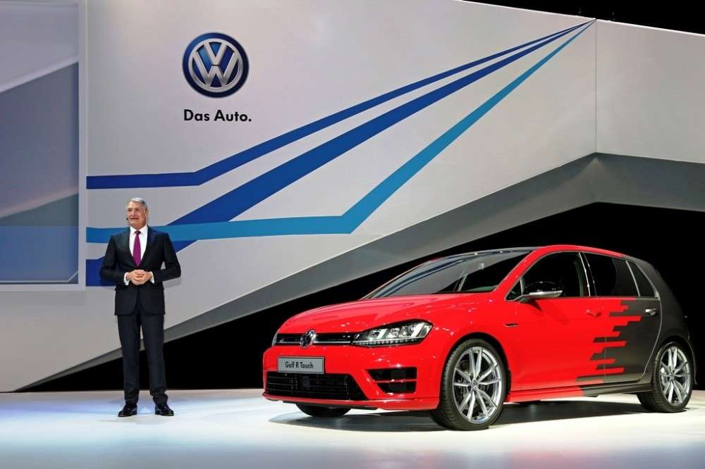 Volkswagen Golf R Touch concept CES 2015