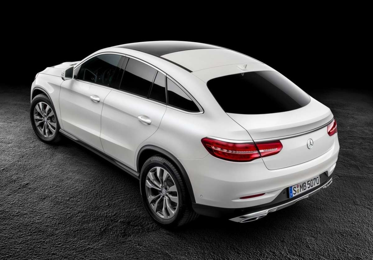 Mercedes GLE coupe diesel