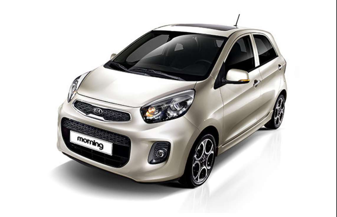 Kia Picanto 2015 color panna
