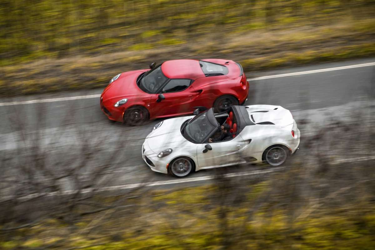Test drive 4C Spider e 4C Coupé