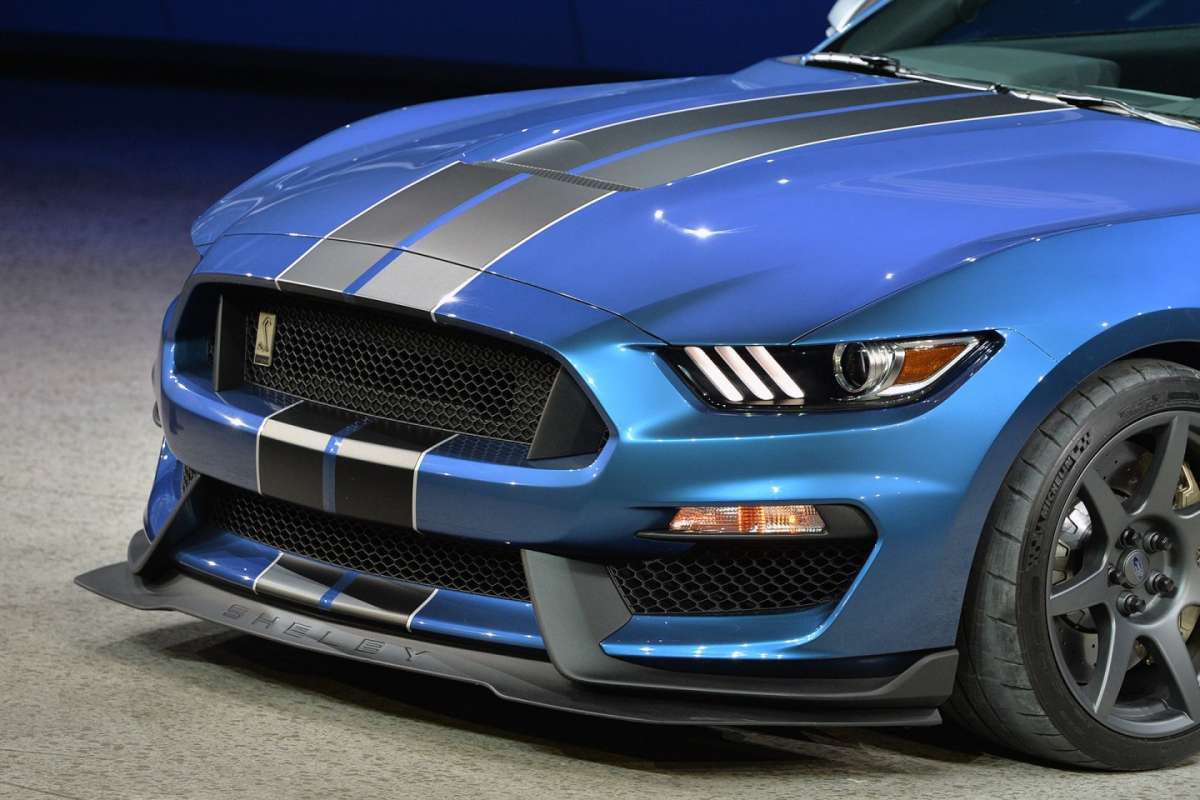 Ford Mustang GT350R motore