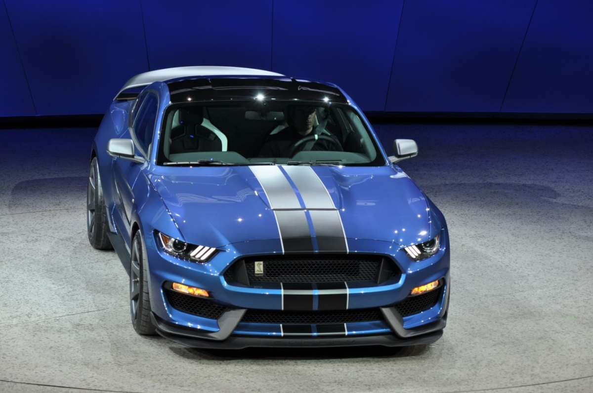 Ford Mustang bicolore