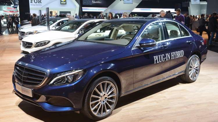 Mercedes-Benz C350 Plug-In Hybrid al Salone di Detroit 2015
