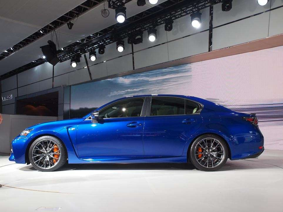 Lexus GS F, salone Detroit 2015 (2)