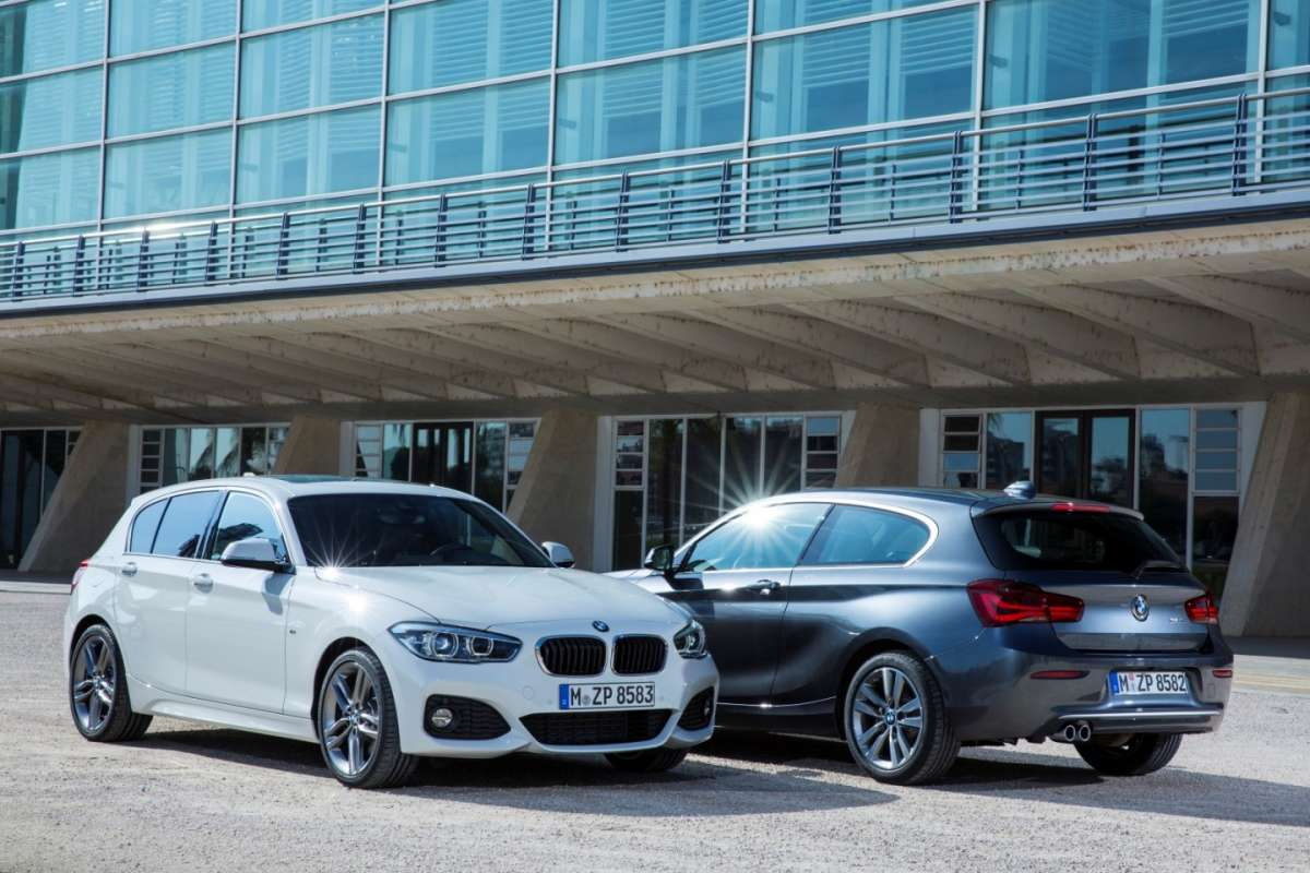 Bmw Serie 1 restyling 2015