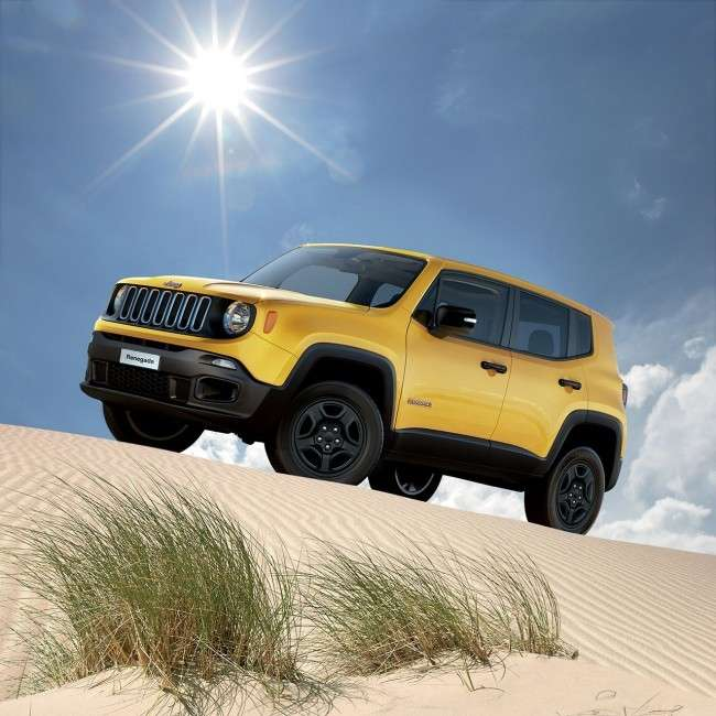 Jeep Renegade 2.0 Multijet Sport 4x4, il design,