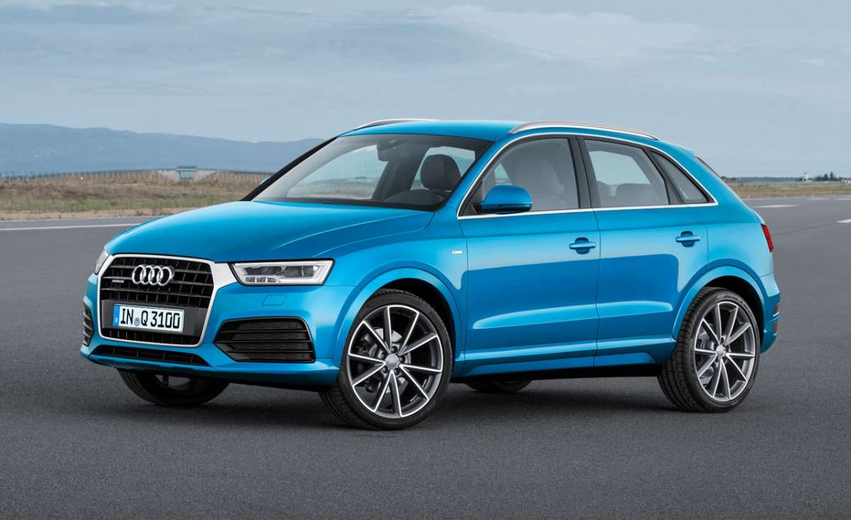 Audi Q3, cambia look.