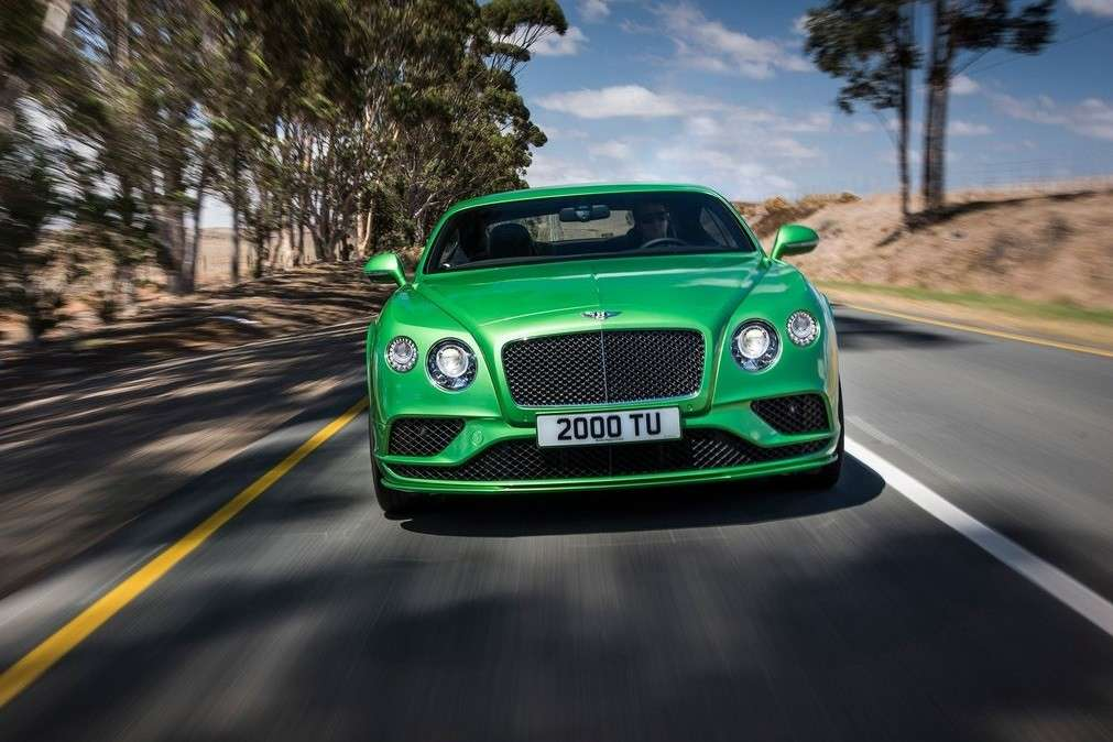 Nuovo paraurti Continental GT