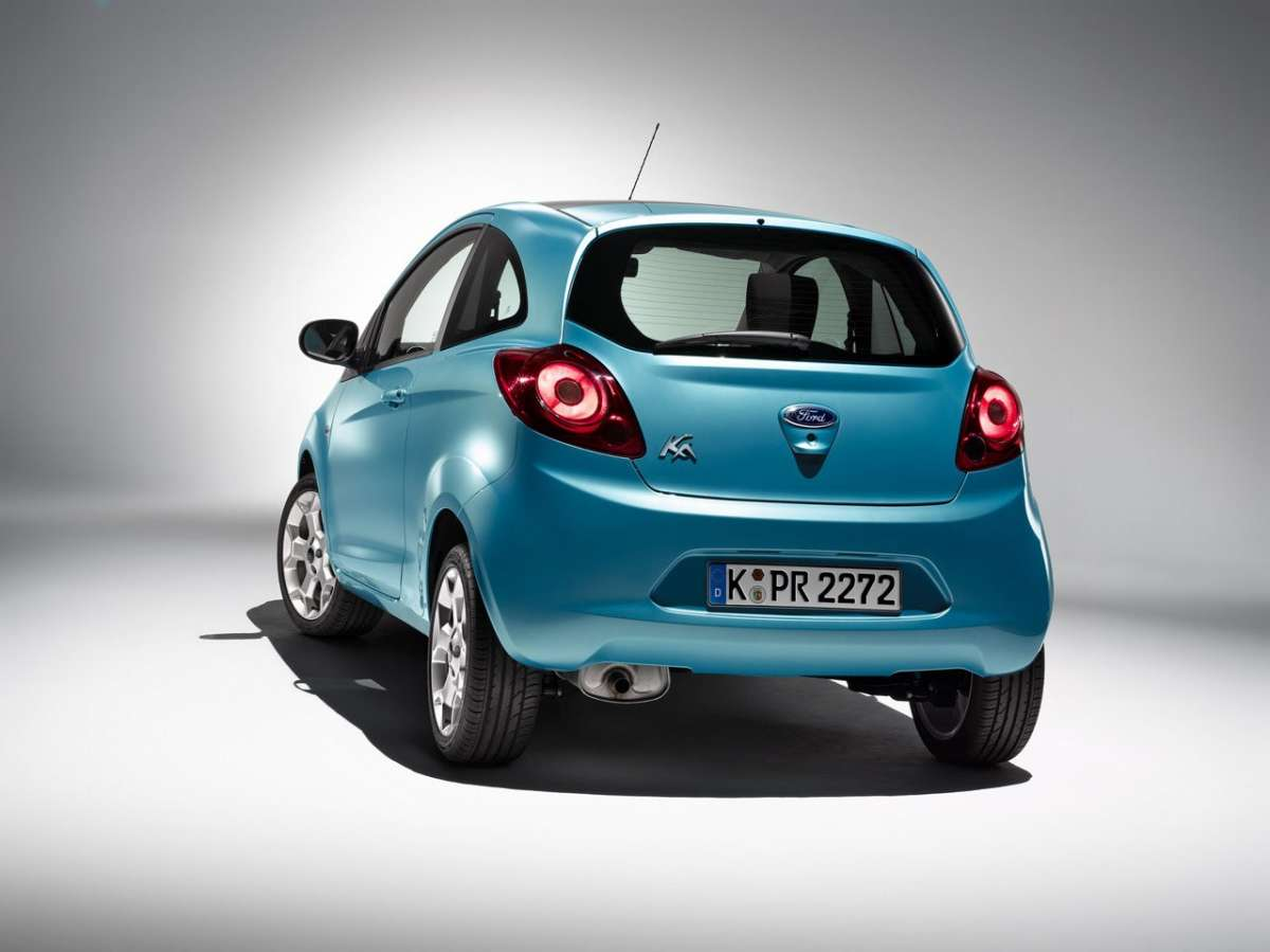 Ford Ka a GPL posteriore