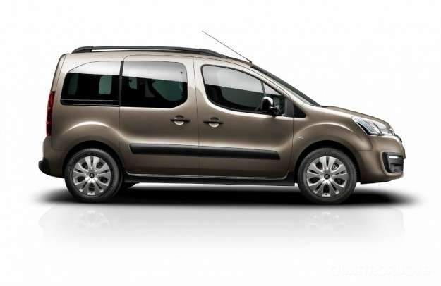 Citroen Berlingo, nuovo look.