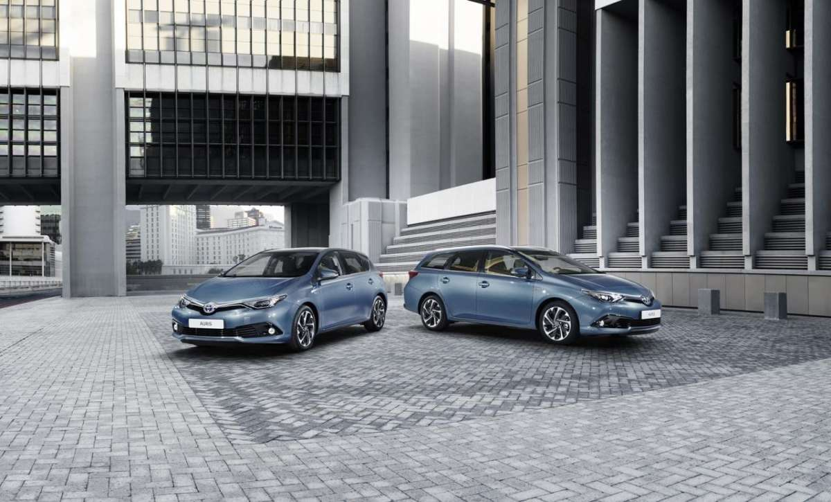 Nuova Toyota Auris restyling
