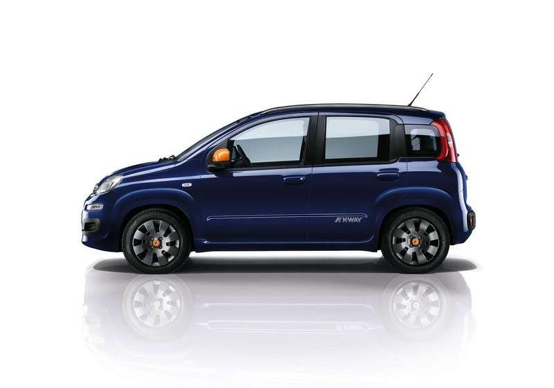 Limited edition Fiat Panda K-Way