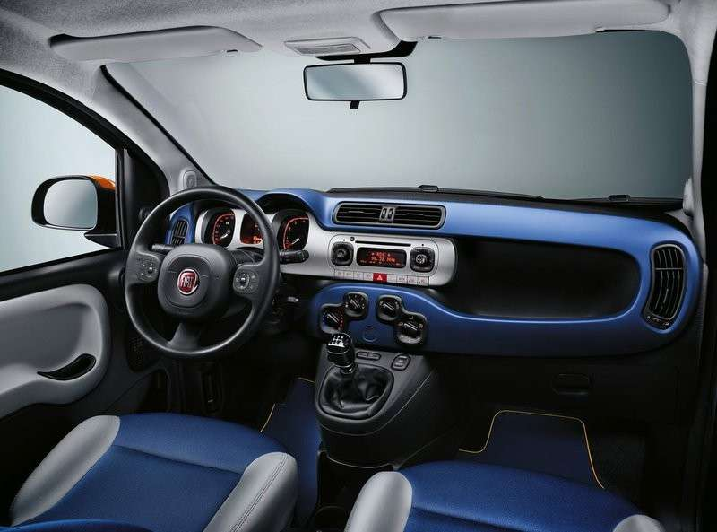 Fiat Panda K-Way interni
