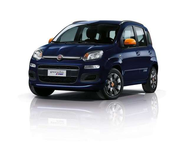 Fiat Panda K-Way, nuovo look.