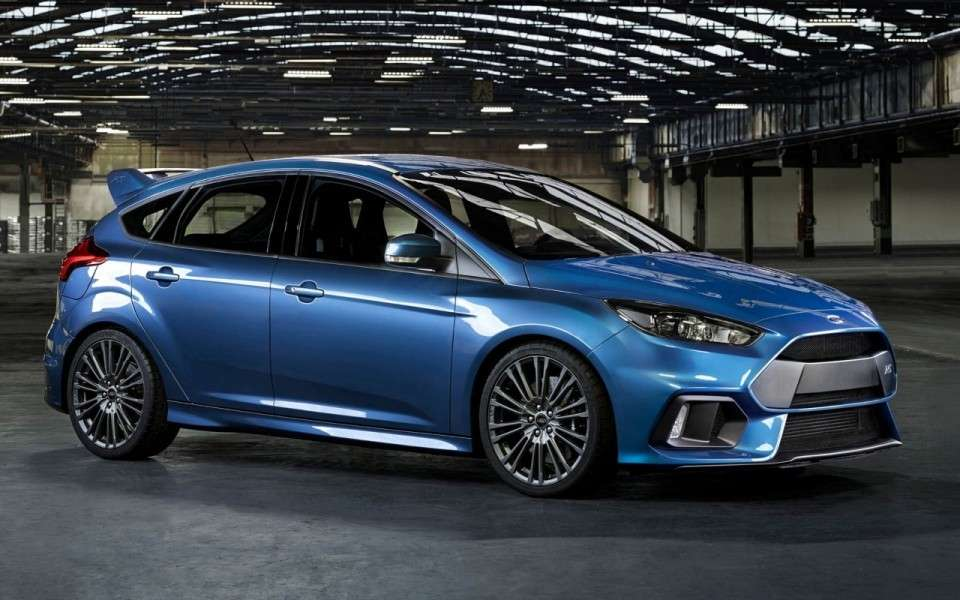 Ford Focus RS, motore Ecoboost.