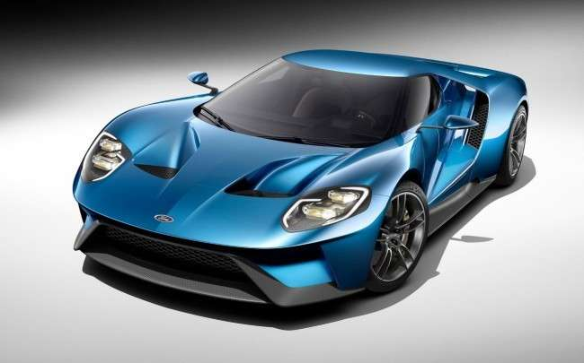 Ford GT, nuovo motore Ecoboost.