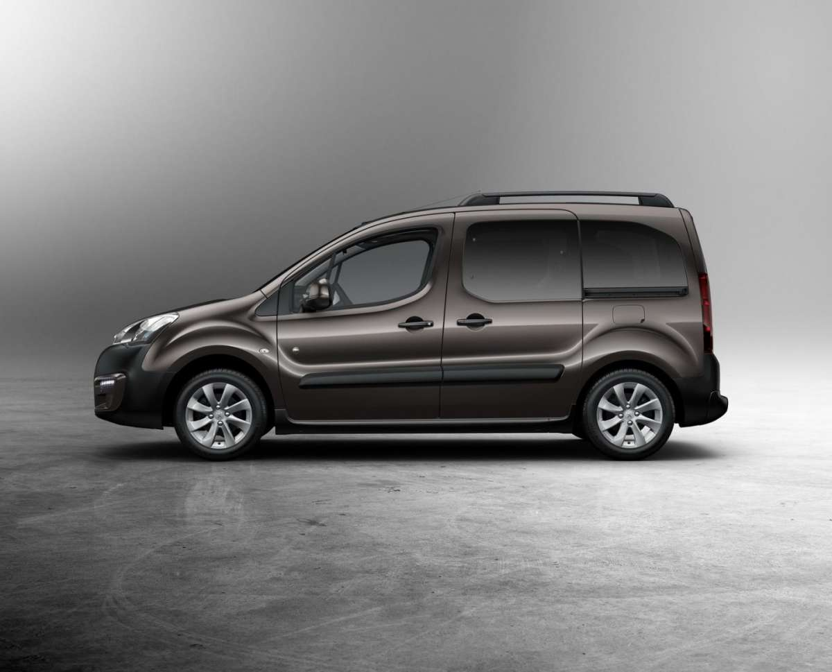 Peugeot Partner facelift 2015 dimensioni