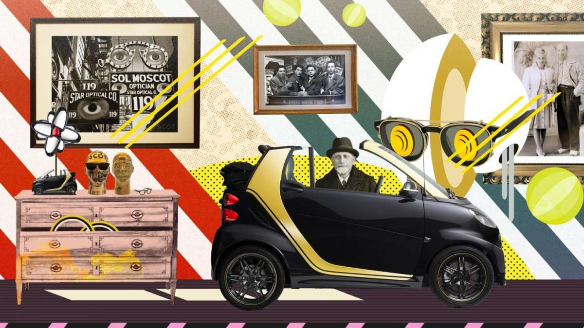 Smart ForTwo Cabrio edition Moscot dimensioni