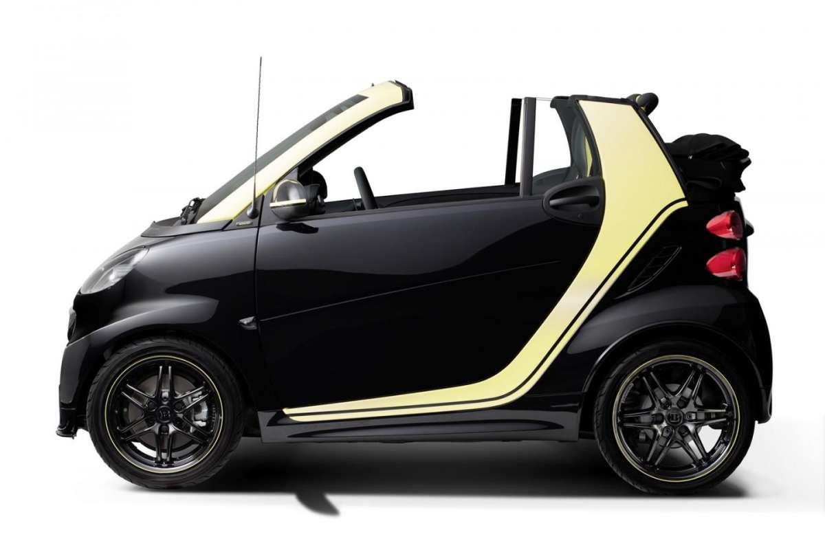 Smart ForTwo Cabrio edition Moscot scoperta
