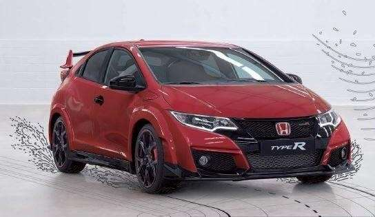 Fari anteriori a led su nuova Civic Type-R