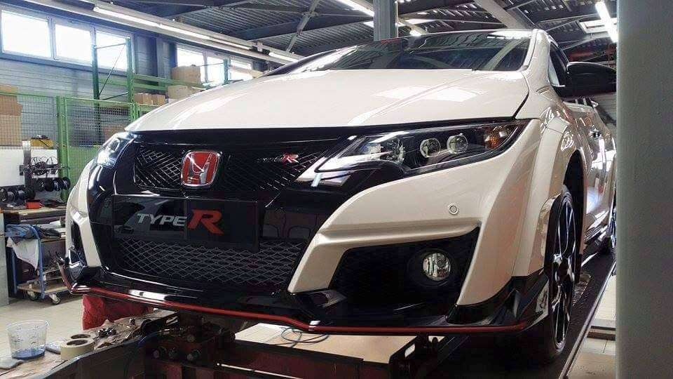 Nuova Honda Civic Type-R turbo 2015