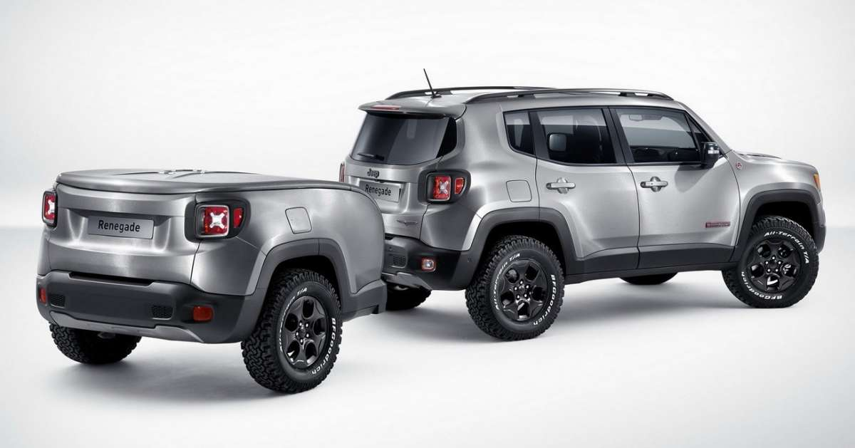 Jeep Renegade Hard Steel posteriore