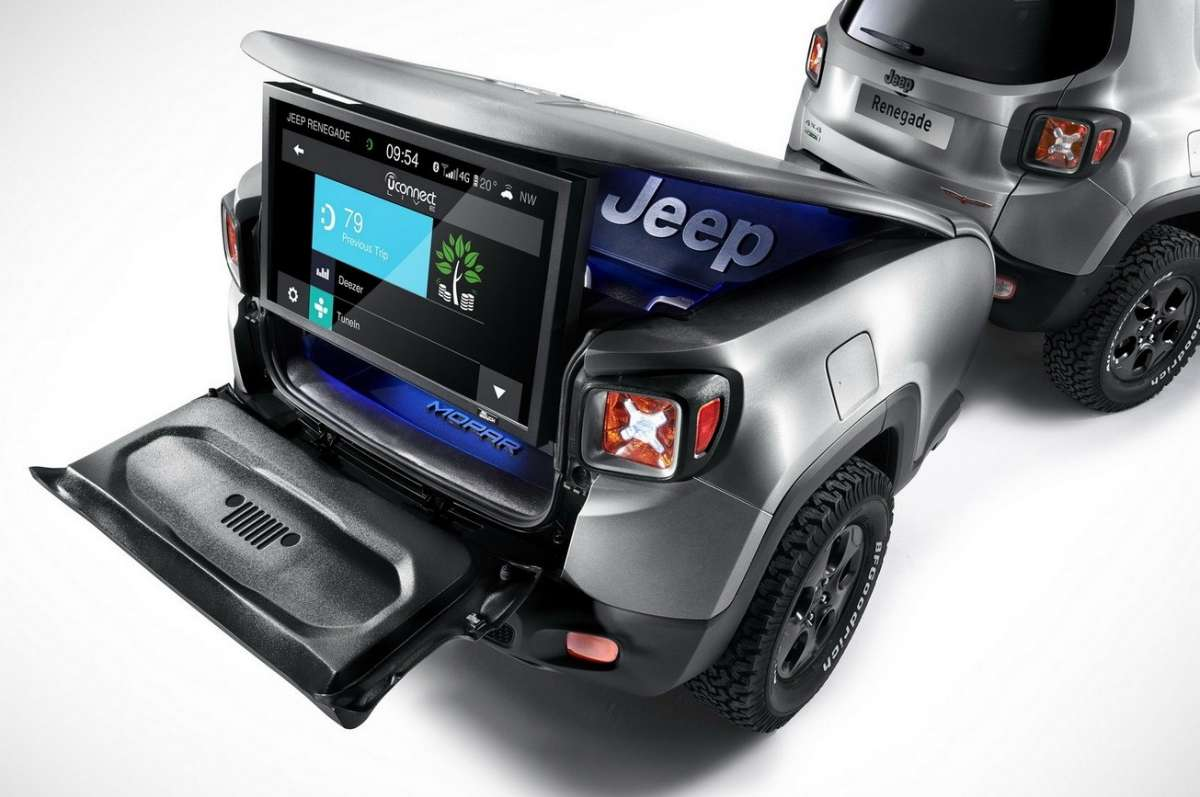 Jeep Renegade Hard Steel carrello appendice