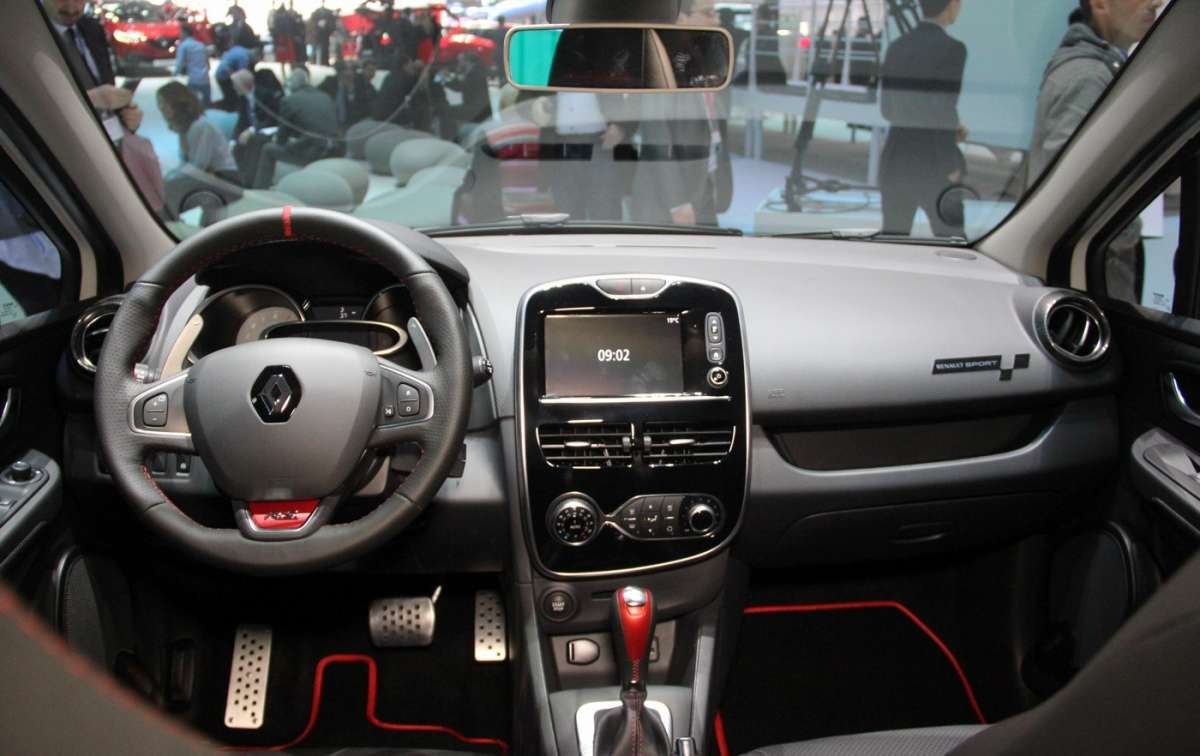 Plancia Renault Clio RS Trophy
