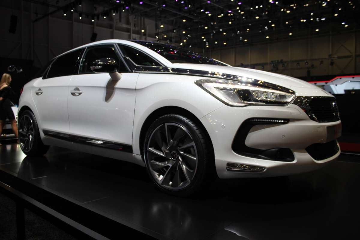Restyling Citroen DS 5 2015