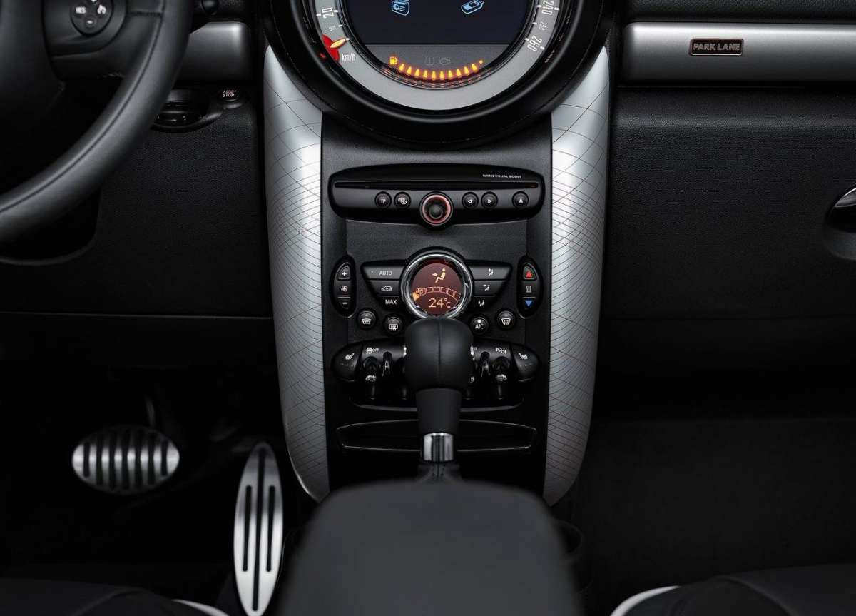 Mini Countryman Park Lane consolle centrale