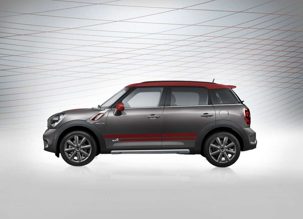 Mini Countryman Park Lane fiancata