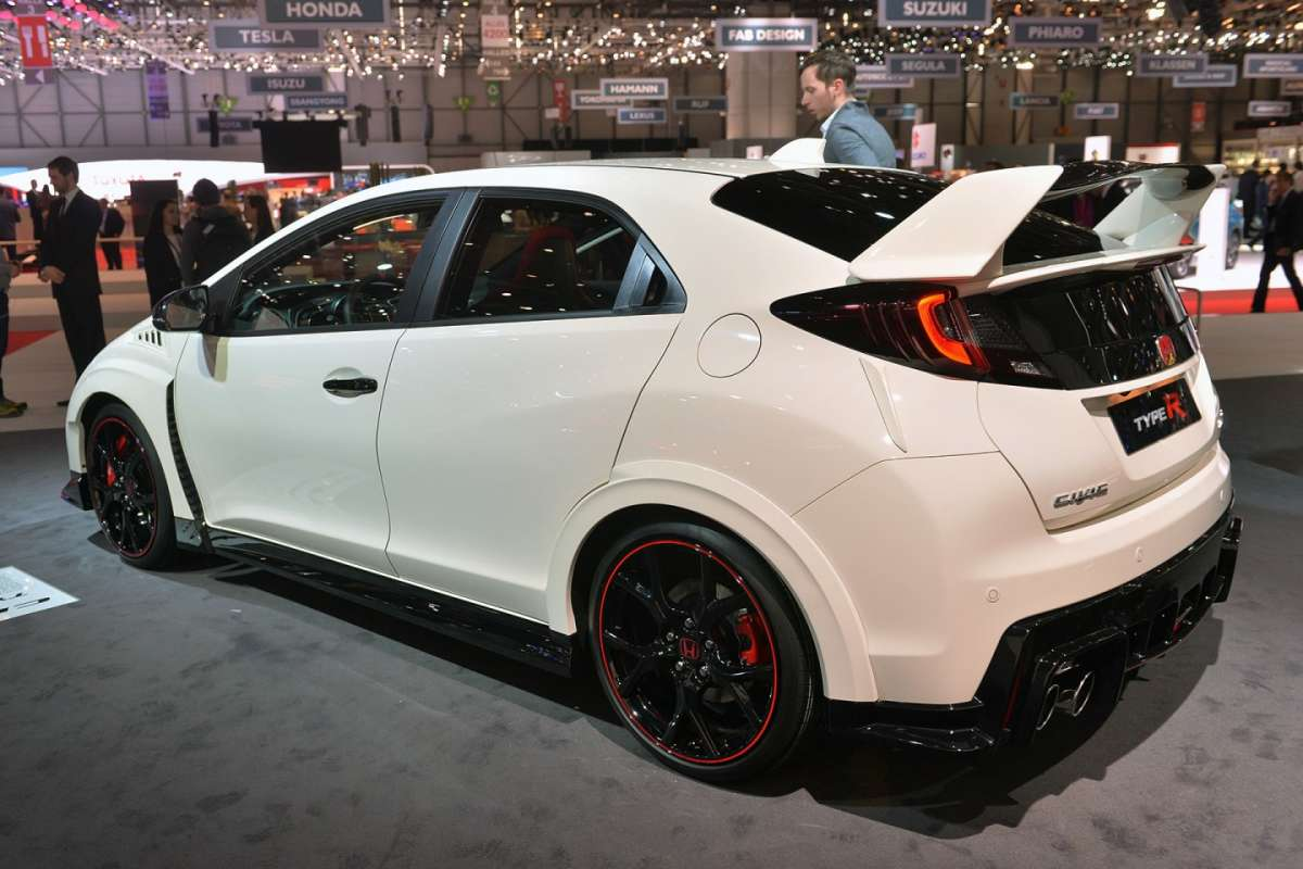 Honda Civic Type-R 2015 bianca