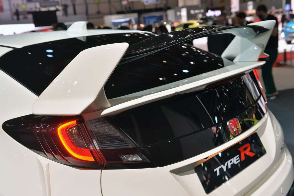 Spoiler Honda Civic Type-R 2015