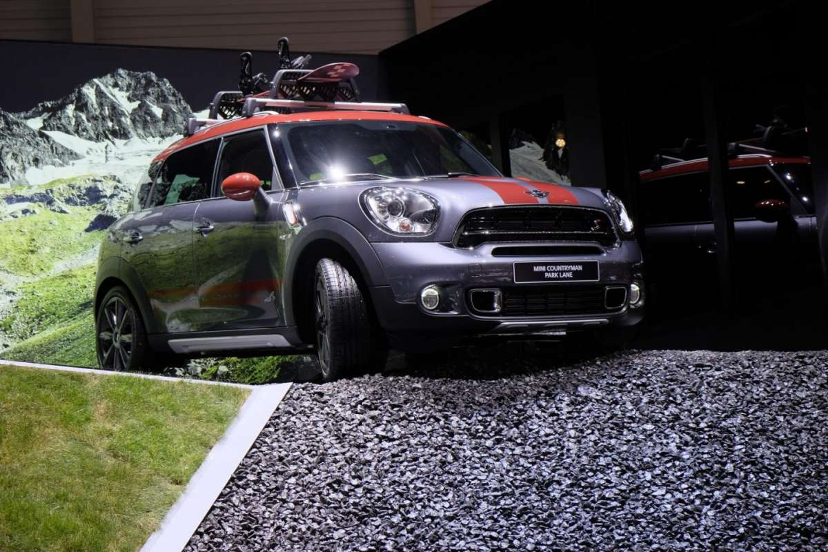 Mini Countryman Park Lane al Salone Ginevra 2015