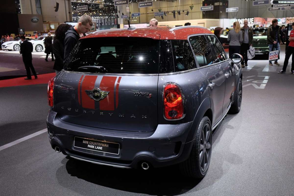 Mini Countryman Park Lane, scheda tecnica