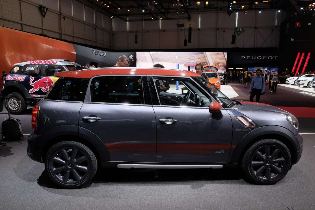 Mini Countryman Park Lane, dimensioni