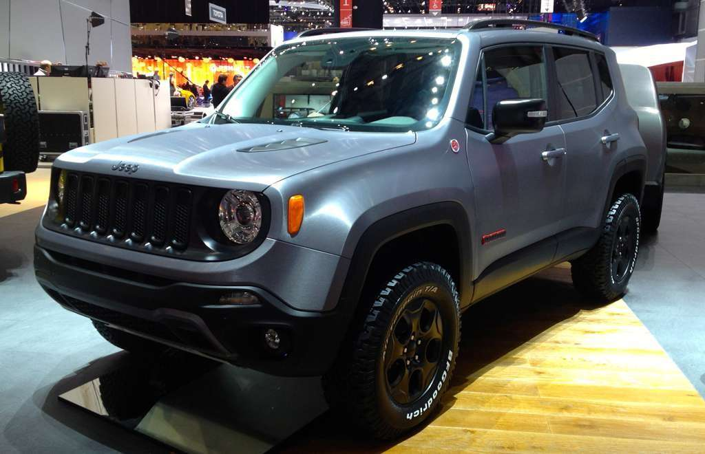 Jeep Renegade Hard Steel a Ginevra 2015