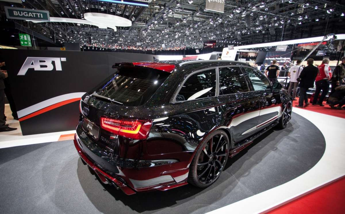 Coda dell'Audi RS6 tuning