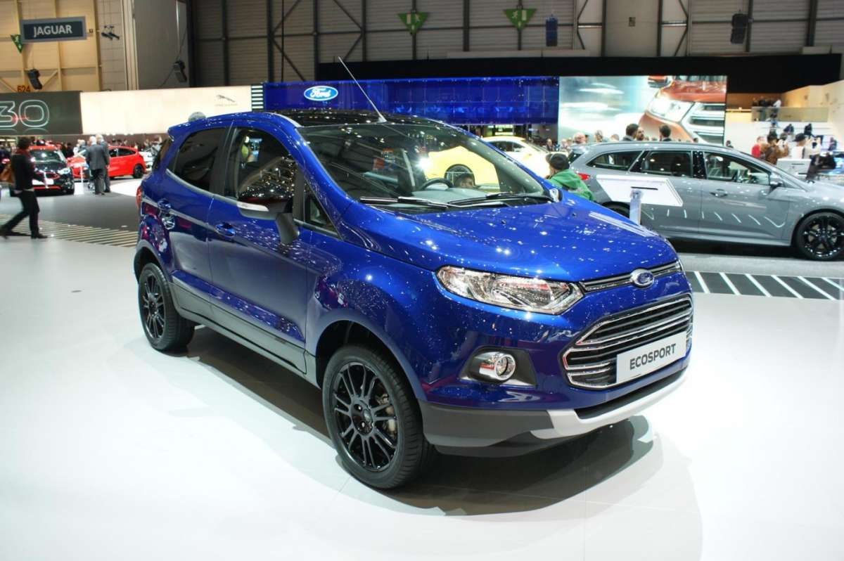 Frontale Ford Ecosport 2015
