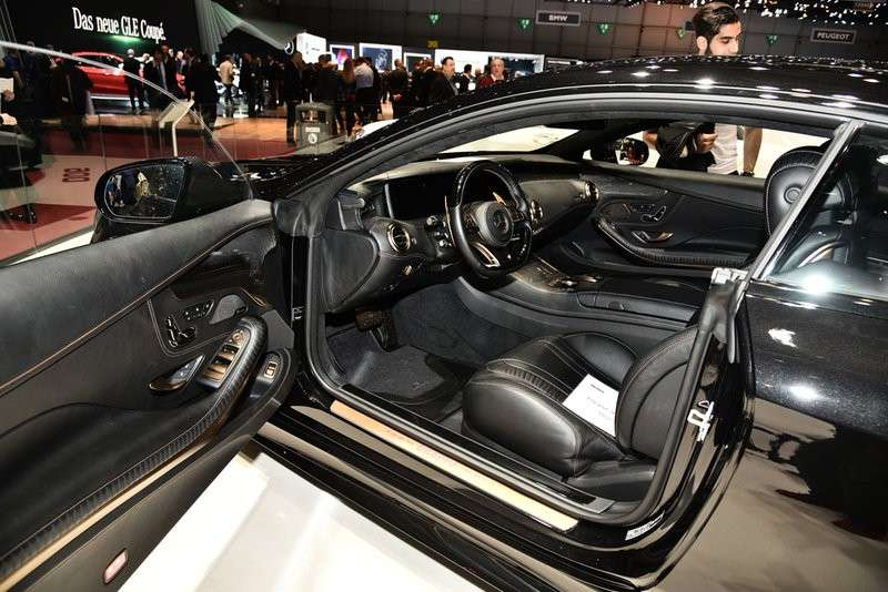 interno Brabus 850 6.0 Biturbo Coupé