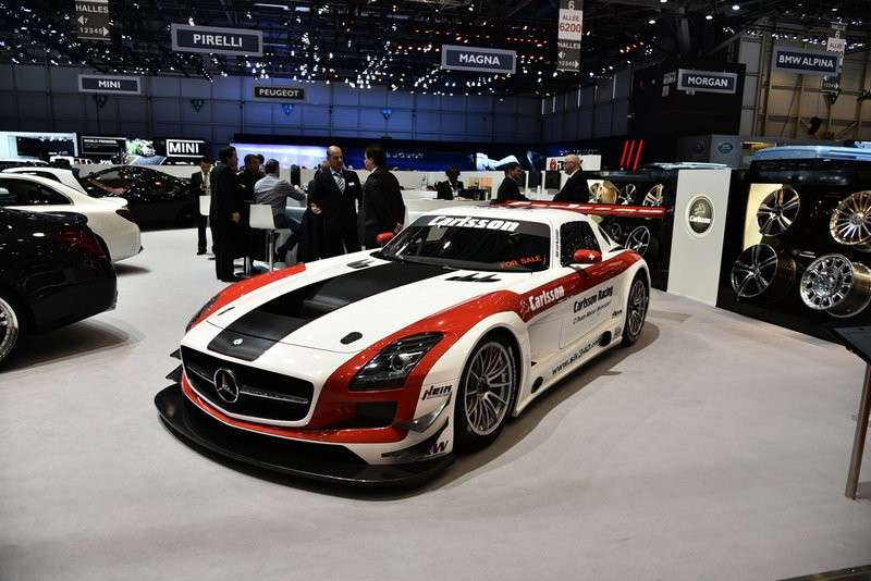 Mercedes SLS AMG by Carlsson