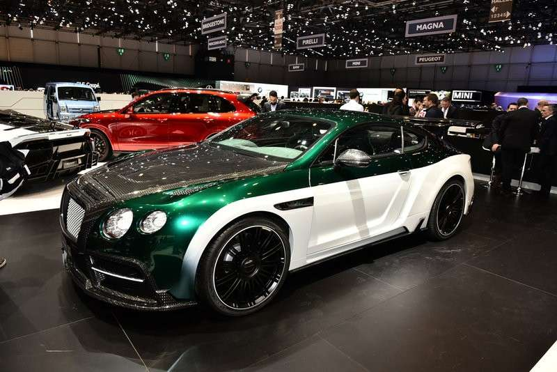 Bentley Mansory laterale